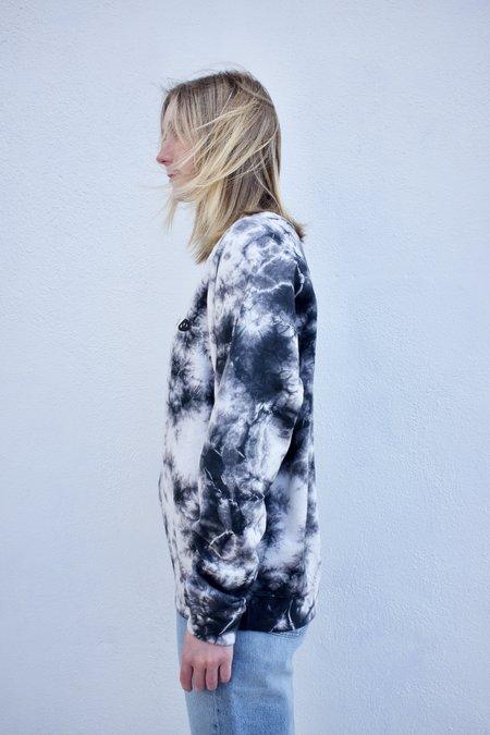 Clare V. Eyes Sweatshirt - Tie Dye