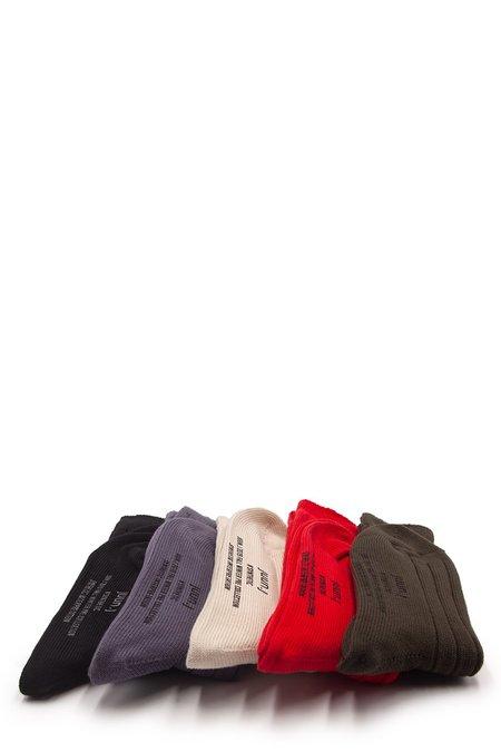 Juun.J Five Pack Multicolor Socks