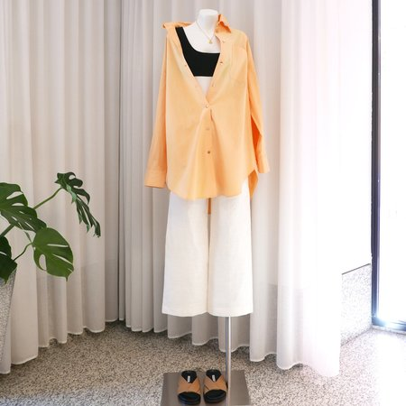 Rejina Pyo Leah Organic Cotton Shirt - Yellow