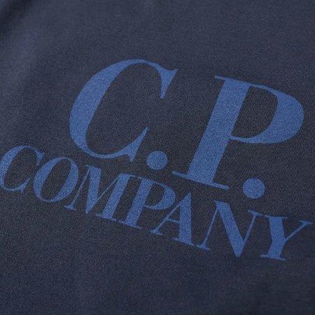 C.P. Company Big Logo Tee - Total Eclipse