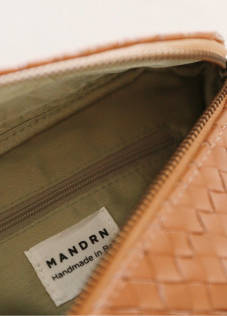 Mandrn Woven Remy Fanny Pack - Camel