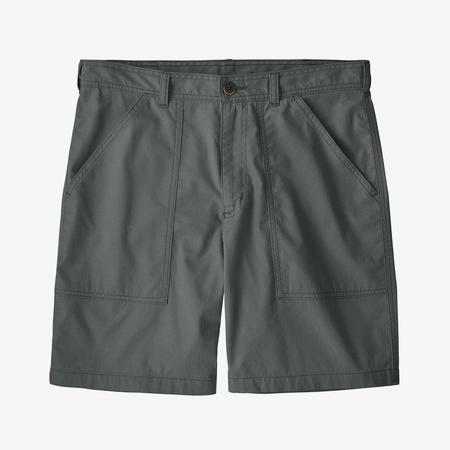 "Patagonia 8"" Organic Cotton Twill Utility Shorts - Forge Grey"