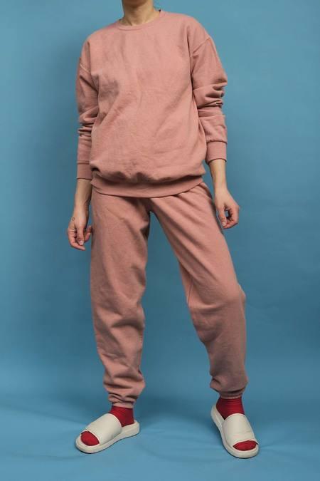WOLF & GYPSY VINTAGE Hand Dyed Sweatshirt - Salmon