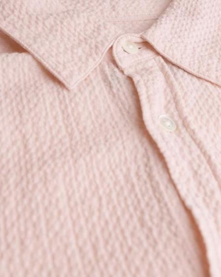 Portuguese Flannel Marisol Shirt - Old Rose