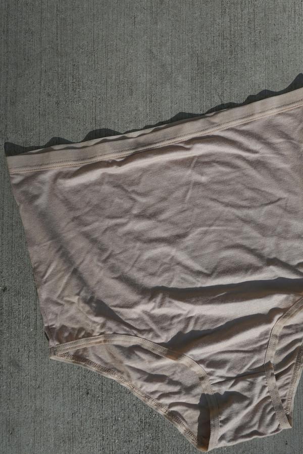 Baserange High Waist Bell Underwear in Nude