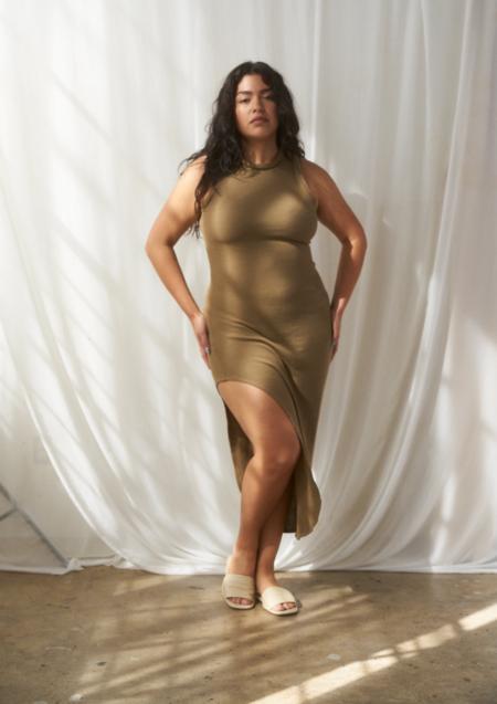 SELVA / NEGRA Bella Dress - Tortilla Rib