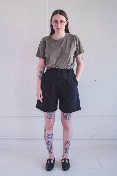 Micaela Greg UTILITY SHORT - BLACK