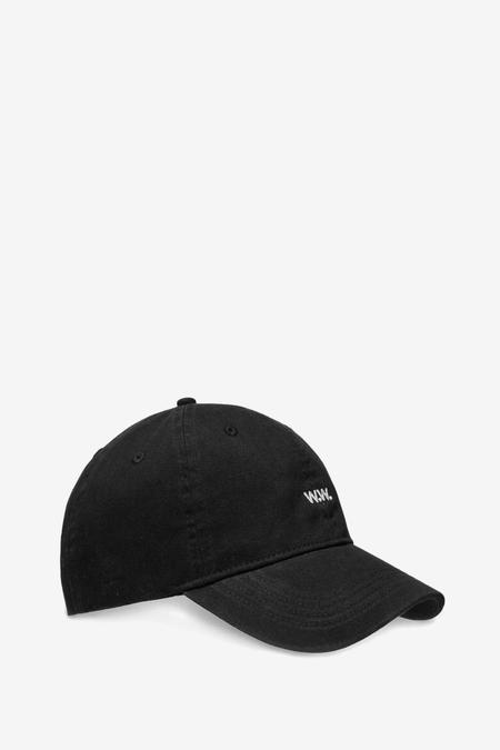 Wood Wood Low Profile Cap - black