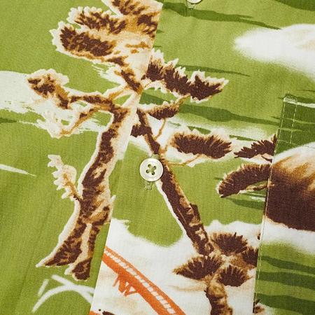 S-UNIVERSALWORKS Fuji Summer Road Shirt - Green