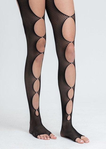 Rui Fishnet Stockings - Black