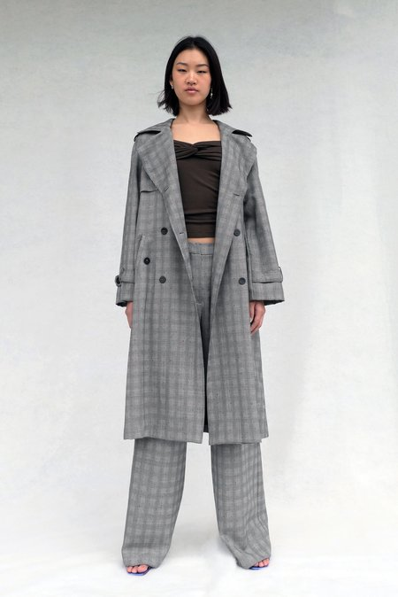 LOCLAIRE Forever Trench Coat - Licorice Allsorts