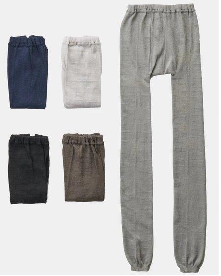 Fog Linen Work Linen Leggings - Khaki
