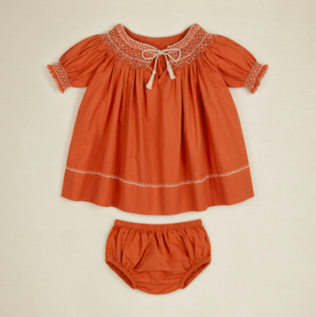 kids Apolina Baby Verna Set - poppy