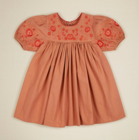 Kids Apolina Bess Dress - Praline