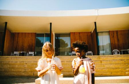 kids Apolina Primrose Dress - Ivory