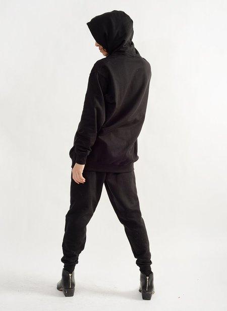 Meg Feminist Hoodie sweater - Black