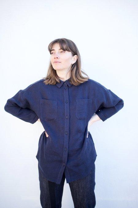 Valérie Dumaine Cypress Shirt - Navy