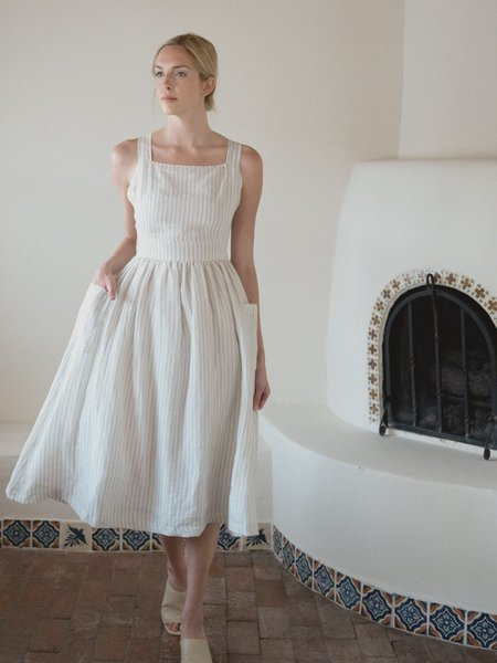 LAUDE the Label The Flora Dress - cream