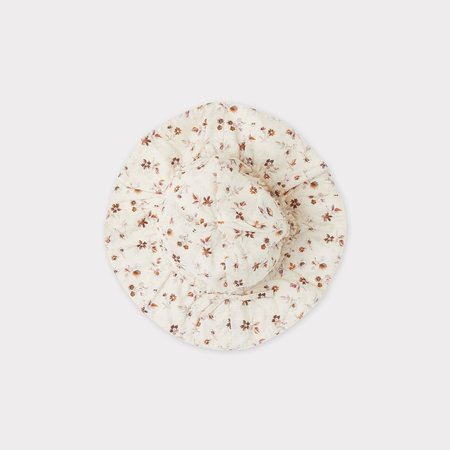 kids Caramel Marlin Baby Sunhat -  Ditsy Floral Print