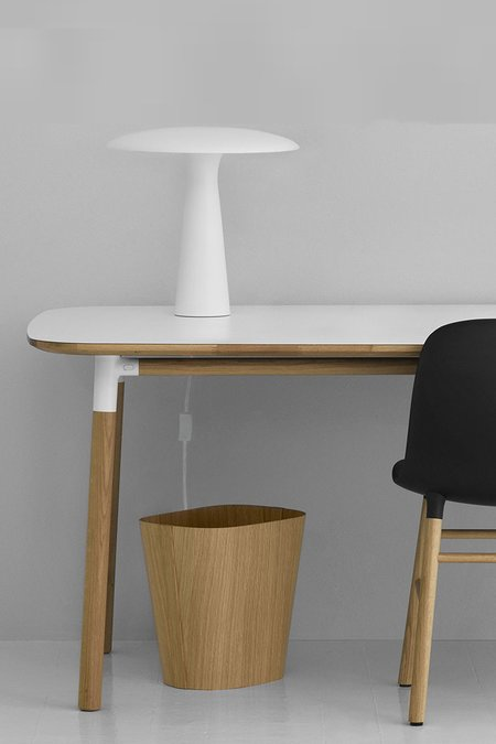 Normann Copenhagen Shelter Table Lamp - White