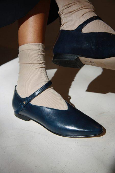 ACT SERIES Walter Ballet Flats - Blue