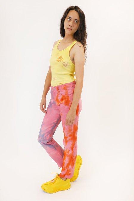 Collina Strada Dream House Flower Power Jean - Pink