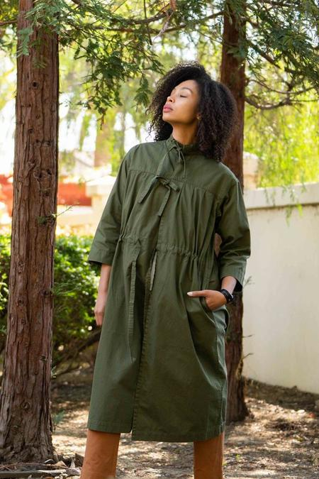 Chimala Army Jacket - Khaki Green