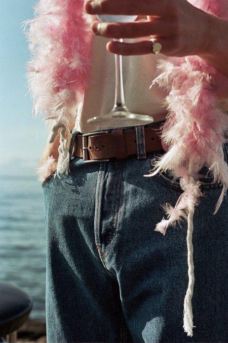 Séfr Straight Cut Jeans - Stone Wash