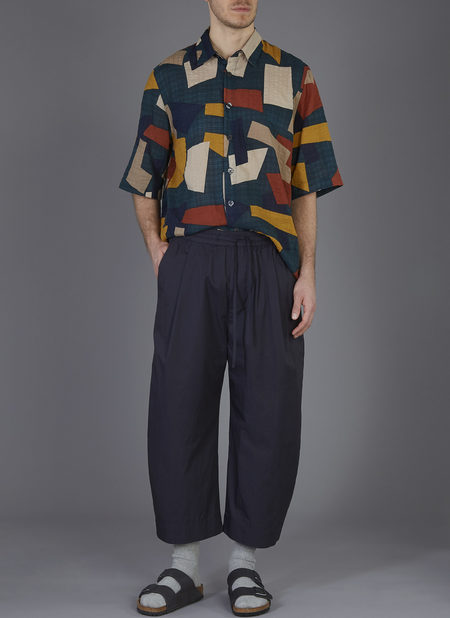 GREI. OVATE BAGGY PANT - MIDNIGHT BLUE