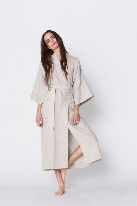 UNISEX Megan Huntz linen Kimono jacket
