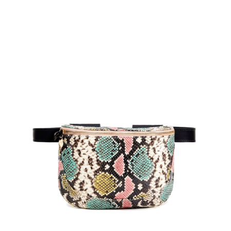 Clare V. Fanny Pack - Painted Snake Tie-Dye