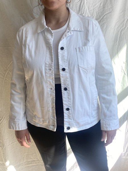 Vincetta Denim Jacket - White