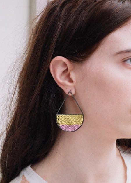 Elk Jens earrings - Lavender/Citronelle