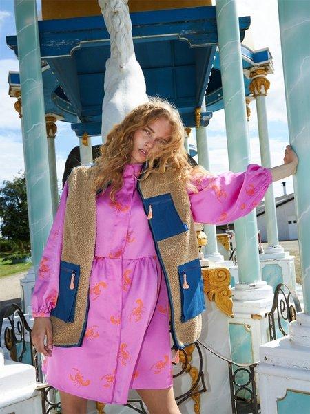 Cras Adele Vest - Doe Mazerine Blue