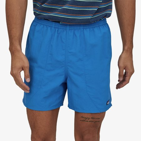 "Patagonia Men's  5"" Baggies™ Shorts - Bayou Blue"