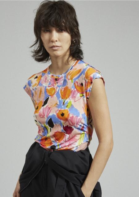Rachel Comey Dusk Tee - floral jersey