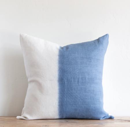 Sugar Feather Dip Dye Pillow