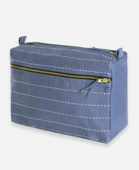 Anchal Project Large Pin Stitch Toiletry Bag