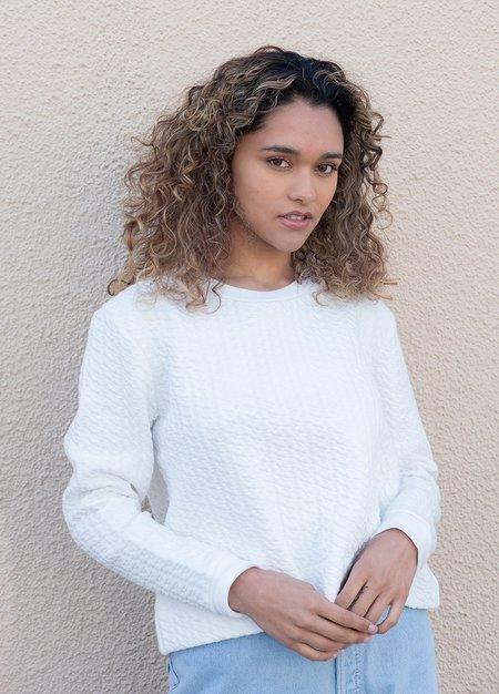 Ali Golden Quilted Sweatshirt