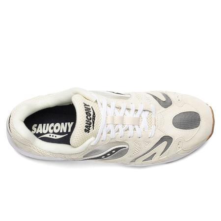 Saucony Grid Azura 2000 Sneakers - Antique White