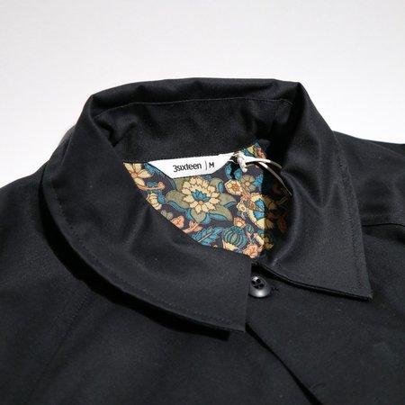 3Sixteen Mac Coat - Black