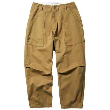 Liberaiders Herringbone Sarrouel Pants - Beige