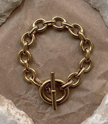 Laura Lombardi portrait bracelet - Gold