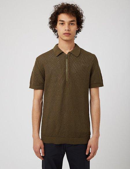 NN07 Ed Polo Shirt - Army Green