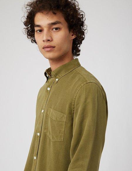 NN07 Manza Slim 5969 Shirt - Leaf Green
