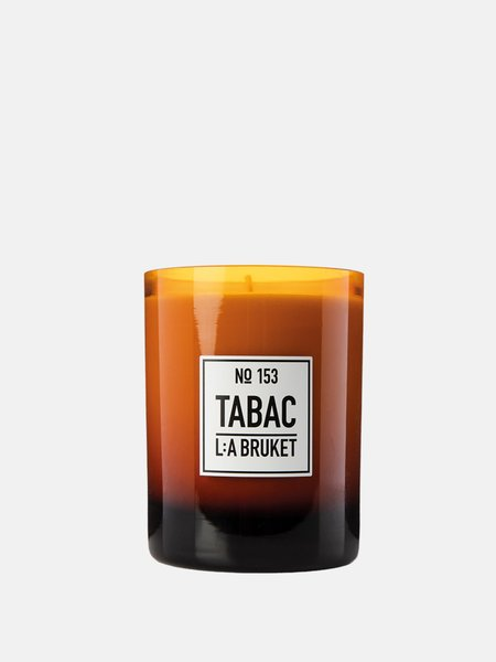 L:A BRUKET Tabac 153 Scented Candles