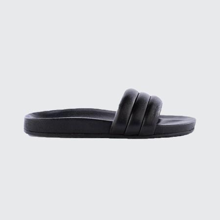 Seychelles Leather Slide - BLK