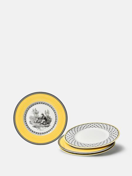 VILLEROY & BOCH Audun set of 4 Salad Plate - Multi