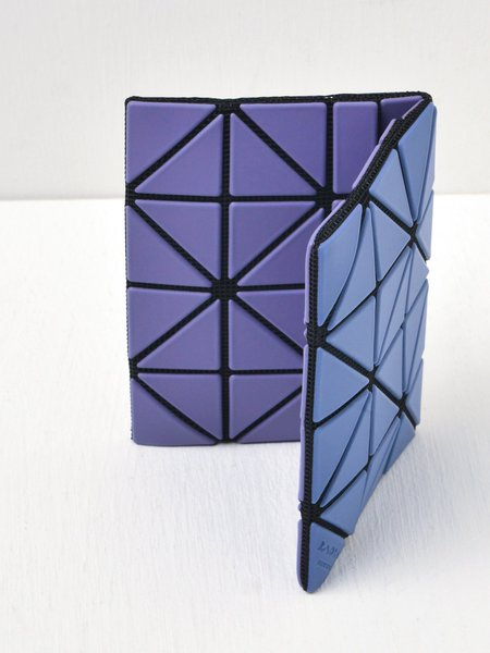 Bao Bao Issey Miyake Card Case - Purple/Blue