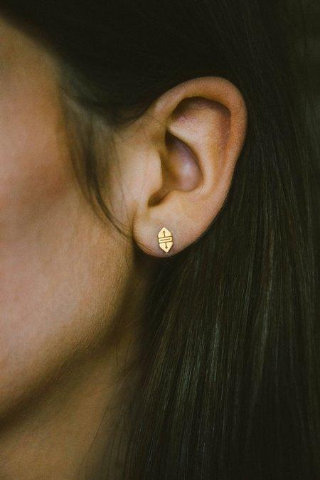 Sierra Winter Jewelry Canyon Earrings - 14K Yellow Gold